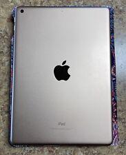 Apple iPad 6th Gen 128GB, WiFi + Cellular, Bundled w/  Paisley Cover - Pristine