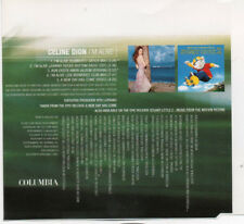 "CELINE DION ""I'M ALIVE"" RARE CD MAXI / LITTLE STUART SOUNDTRACK - GATICA REMIX"