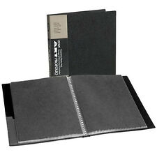 Itoya Art Portfolio 9 x12 Inch Storage Display Book, 24 Sleeves for 48 Views