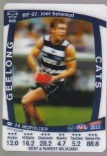 2011 Teamcoach Best And Fairest WildCard - Joel Selwood