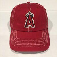 LA ANGELS MLB Fan Favorite Red Baseball Hat Cap OSFA Official Genuine Brand New!