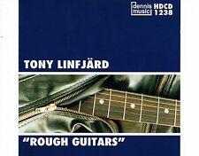 CD TONY LINFJARD rough guitars DENNIS MUSIC 1995 EX+