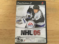 NHL '06 Playstation PS 2 Video Game without Instruction Manual EA Sports