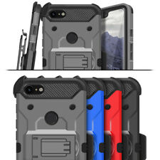 For Google Pixel 3 XL Hybrid Dual Layer Armor Defender Full Body Protective Case