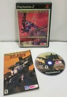 GunGriffon Blaze (Sony PlayStation 2 Ps2) Complete w/ Manual TESTED & WORKING