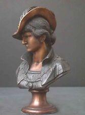 Sir Walter Raleigh Bronze Bust Explorer Art