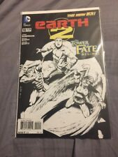 Earth 2 The New 52 2013 10 Sketch Variant NM