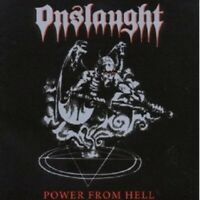 "ONSLAUGHT ""POWER FROM HELL (RE-RELEASE+BONUS)""  CD NEU"