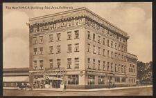 Postcard  SAN JOSE,California/CA  NEW Y.M.C.A. BUILDING 1910'S