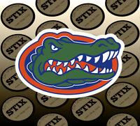 Florida Gators Logo NCAA Vinyl Die Cut Sticker Car Window Bumper Decal