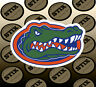 Florida Gators Logo NCAA Vinyl Die Cut Sticker Car Window Bumper Decal