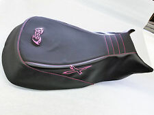 can am can-am outlander xmr 570 650 800 1000 seat cover HOT PINK THREAD AND LOGO