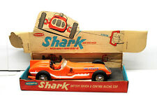 Vintage 1961 Remco Shark Battery Operated U-Control Tether Car w/ Original Box
