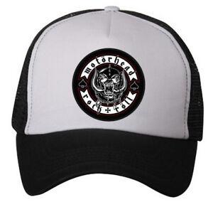 Motörhead Hat (snapback trucker hat-Adjustable) Lemmy/Ramones/Misfits