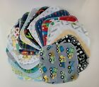 Assorted Variety 20 Cloth Wipes Baby Flannel Tissue Napkin Blue 1 or 2 Ply Boy