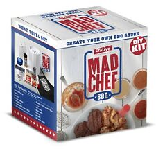 BBQ Sauce Crative Mad Chef - DIY Kit - Create Your Own Custom Gourmet BBQ Sauce