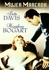 MARKED WOMAN 1937 Bette Davis Humphrey Bogart Lloyd Bacon Crime Drama NEW R2 DVD