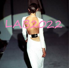 GUCCI TOM FORD 1996 WHITE BACKLESS DRESS GOWN NEW AND RARE RARE RARE