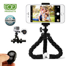Phone Tripod Phone Stand with Camera Remote and Phone Holder for iPhone X 8 8s 7