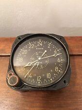 WW2 Waltham CDIA Military 8-Day Aircraft Clock US Navy Aero Corsair Hellcat TBD