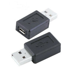 Micro USB 2.0 Female to USB A Male Converter Connector Male 2 Female Adapter Hot