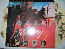 Glory, Letterbox Format Laserdisc LD Denzel Washington, Morgan Freeman,