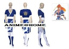 New Top Quality Dead or Alive Video Game Kasumi Blue Cosplay Costume XS - L