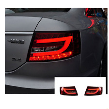 LED Tail Lights For Audi A6 2005-2008 Sequential Signal Red Replace OEM