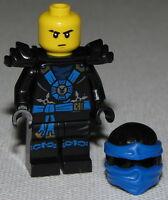 Lego New Jay Ninjago Minifigure Ninja Minifig Round Torso Emblem Fig