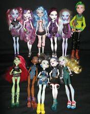 11 Monster High Doll Lot Abbey Bominable Spectra Vondergeist & More Mattel