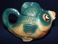 Vintage Ceramic Japanese Fish Creamer