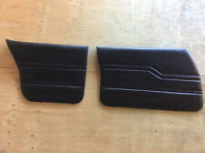 Holden Front and Rear Door Trim Cards (Black) suits HQ, HJ, HX and HZ