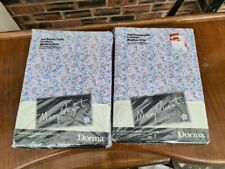 """2 x Pairs of Vintage Mary Quant """"Dorma"""" Curtains Medium Drop Still in packaging"""