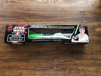 Star Wars Episode I Hasbro (1999) Electronic Qui-Gon Jinn Lightsaber *Sealed*