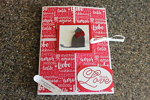 Stampin Up Happy Valentines Day Sending Love Cat Hello Love