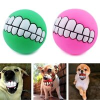 Indestructible Solid Rubber Ball Pet Dog Toy Training Chew Play Fetch Bite Toy