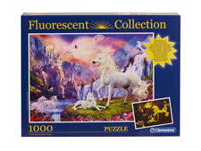 Clementoni Unicorn Fluorescent Puzzle 1000pcs