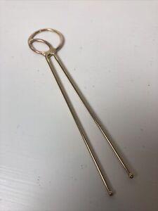 Brass Handmade Art Hair Stick Modern