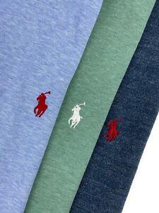 Ralph Lauren Polo Shirt Lot XXL Mens Short Sleeve Solid Pique Pony 3 Size Sz 2XL