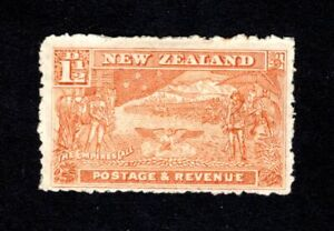 NEW ZEALAND 1900-1907 1.5d BROWN SHADE? MOUNTED MINT WITH HINGE REMAIN NOT CAT