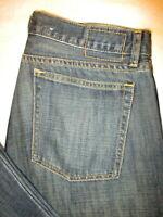 Gap 1969 Straight Fit Mens Dark Blue Denim Jeans Size 32 x 32  Mint