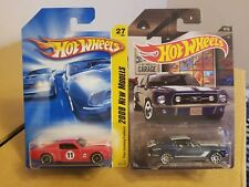 Hotwheels Ford Mustang's lot of 2 cars