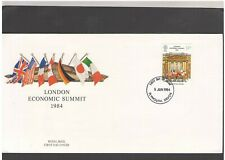 UNITED KINGDOM: #32 - FDC / ECONOMIC SUMMIT  / Fine Used-Offered AS IS.