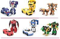 Transformateur Action Figure Jouet modèles Mini Robot Toys 13 cm Optimus Megatron Jazz