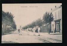 North Africa TUNISIA Ferryville Avenue de France sailors c1910/20s? PPC