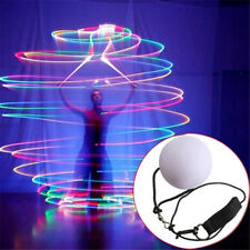 LED Multi-Coloured Glowing POI Thrown Balls For Belly Dance Hand Prop AU