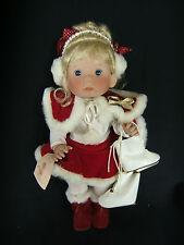 Lee Middleton Christmas Angel 1992 Ice Skater Girl Doll w/ Skates NIB