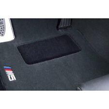 BMW M Black Carpet Floor Mats w/Pad 2004-2010 E60 Chassis M5 Sedans 82110410233