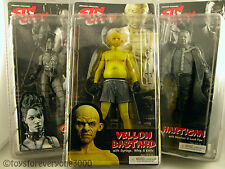 SIN CITY FIGURINES SERIES 1 LOT OF 3 HARTIGAN B&W,YELLOW BASTARD,GAIL B&W SEALED