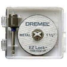 DREMEL TOOL EZ406 EZ LOCK MANDREL CUT OFF WHEEL KIT NEW